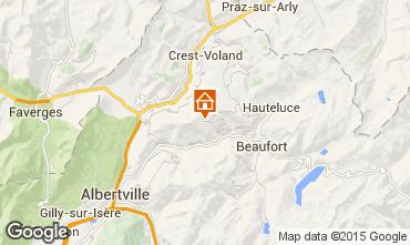 Kaart Les Saisies Appartement 38514