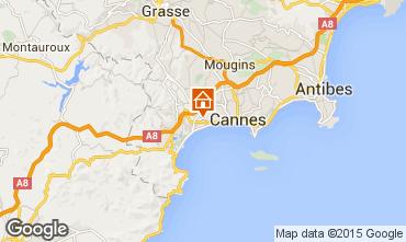 Kaart Cannes Appartement 80647