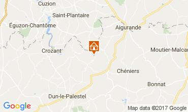 Kaart La Souterraine Huis 107716