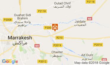 Kaart Marrakech Villa 115912