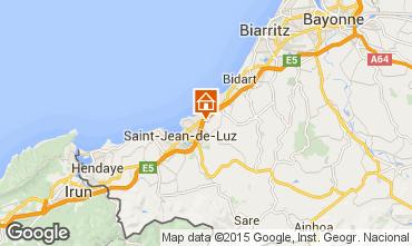 Kaart Saint Jean de Luz Appartement 97030