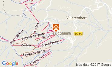 Kaart Le Corbier Appartement 112752
