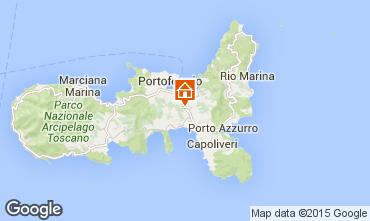 Kaart Portoferraio Appartement 68658