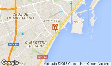 Kaart Málaga Appartement 68454
