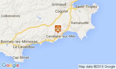 Kaart Cavalaire-sur-Mer Villa 53296
