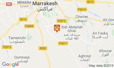 Kaart Marrakech Villa 119414