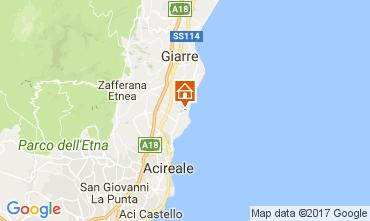 Kaart Acireale Villa 83669