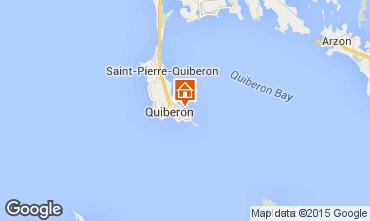 Kaart Quiberon Appartement 77505