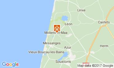Kaart Moliets Villa 109691