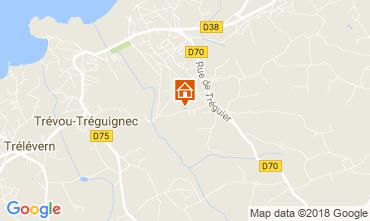 Kaart Trevou Treguignec Huis 113518