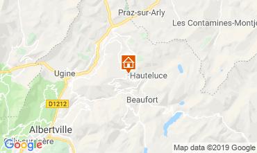 Kaart Les Saisies Chalet 51561