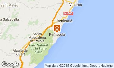 Kaart Peñíscola Villa 66790