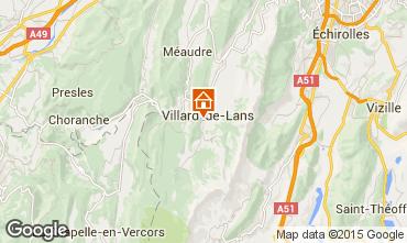 Kaart Villard de Lans - Corrençon en Vercors Villa 101987