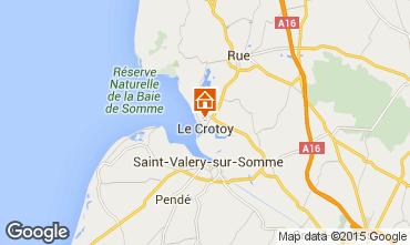 Kaart Le Crotoy Huis 79874