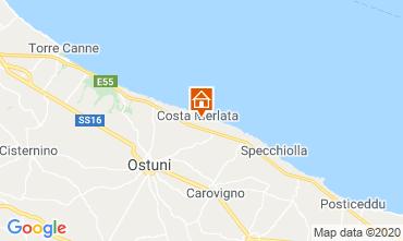 Kaart Ostuni Villa 46576