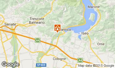 Kaart Sarnico Appartement 37777