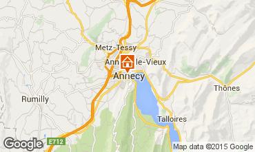 Kaart Annecy Vakantiehuis 94014