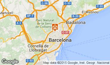 Kaart Barcelona Appartement 81207