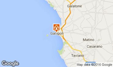 Kaart Gallipoli Appartement 102767