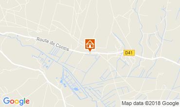Kaart Saint-Julien-en-Born Stacaravan 114101