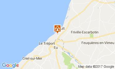 Kaart Saint Valéry sur Somme Villa 111500
