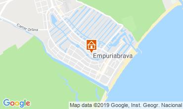 Kaart Empuriabrava Villa 116391