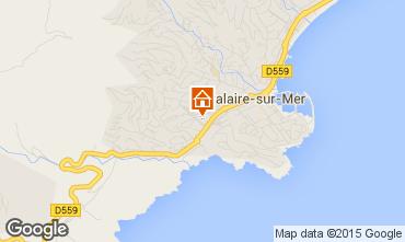 Kaart Cavalaire-sur-Mer Appartement 29401