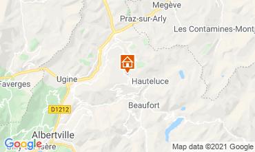 Kaart Les Saisies Studio 2694
