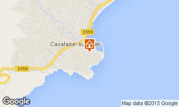 Kaart Cavalaire-sur-Mer Appartement 9053