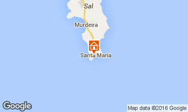 Kaart Santa Maria Appartement 72314