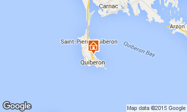 Kaart Quiberon Appartement 28770