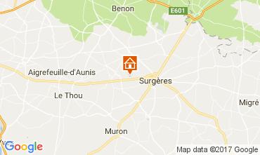 Kaart La Rochelle Vakantiehuis 108213