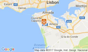 Kaart Lissabon Villa 65732