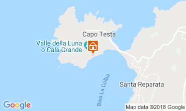 Kaart Santa Teresa di Gallura Villa 90063