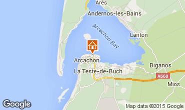 Kaart Arcachon Appartement 67051