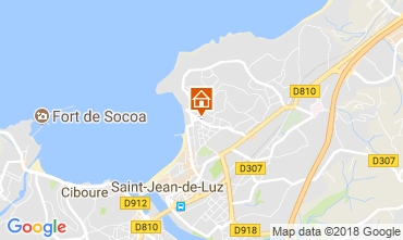Kaart Saint Jean de Luz Appartement 114915
