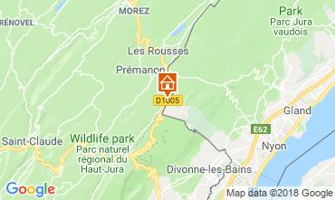 Kaart Les Rousses Studio 117592