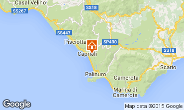 Kaart Pisciotta Appartement 62782