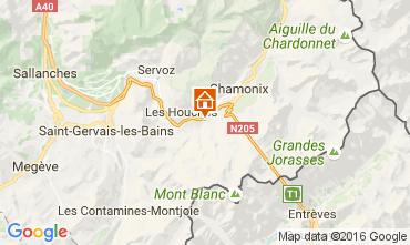 Kaart Chamonix Mont-Blanc Chalet 106440