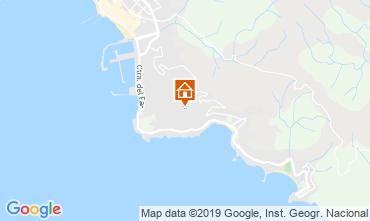 Kaart Rosas Appartement 117988