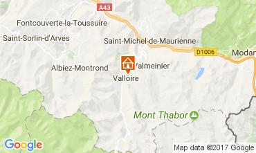Kaart Valloire Appartement 107444