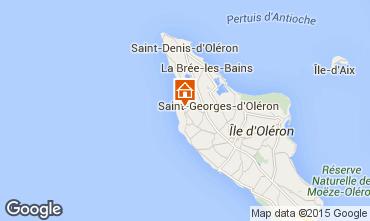 Kaart Saint Georges d'Oléron Huis 63363