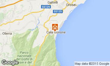 Kaart Cala Gonone Appartement 76799