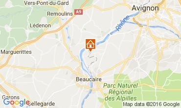 Kaart Avignon Vakantiehuis 101978