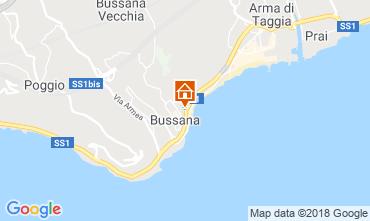 Kaart Sanremo Appartement 97021