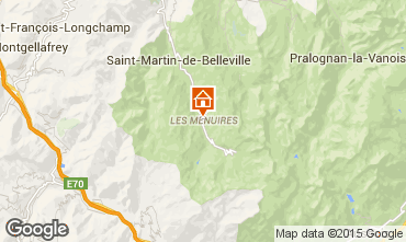 Kaart Les Menuires Appartement 42285