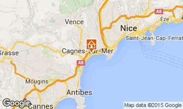 Kaart Cagnes sur Mer Studio 97503