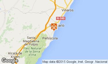 Kaart Peñíscola Appartement 76968