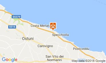 Kaart Ostuni Villa 94351
