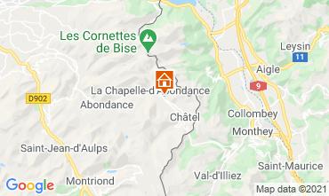 Kaart Châtel Chalet 600